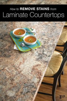 If you have a tough stain on your laminate countertops, we've got you covered. Click through to read cleaning tips and find recommended products.