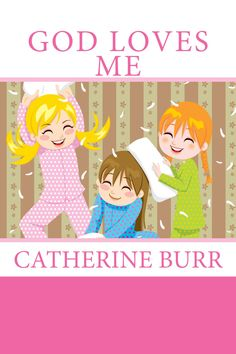 God Loves Me book series for girls (pink) and boys (blue)