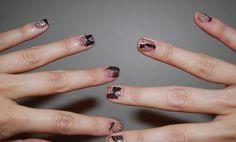 .: DIY: lace nails from BehindSeams