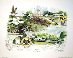 """The University of Southern Mississippi""  My Alma Mater :)"
