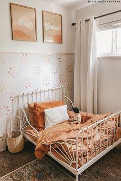 Toddler Room Decor, Toddler Rooms, Infant Toddler, Kids Rooms, Girls Bedroom, Bedroom Decor, Girl Toddler Bedroom, Bedroom Ideas, Style Deco