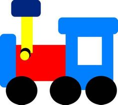 children train clip art