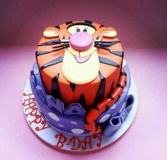 Tigger Cakes Designs | Via Kathy Cole