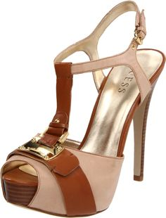 Guess Guess Womens Kringana Platform Pump in Brown (tan) | Lyst
