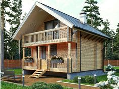 70 Fantastic Small Log Cabin Homes Design Ideas Log Cabin Living, Small Log Cabin, Tiny House Cabin, Log Cabin Homes, Cottage Homes, 3 Storey House Design, Tiny House Design, Rest House, House In The Woods