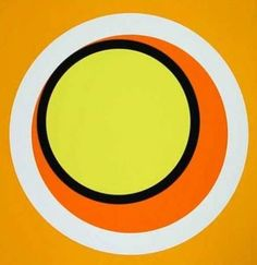 Genevieve Claisse - Composition orange