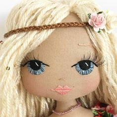 Some Tips, Tricks, And Methods For Your Perfect fabric dolls Diy Rag Dolls, Sewing Dolls, Diy Doll, Doll Clothes Patterns, Doll Patterns, Felt Dolls, Baby Dolls, Mermaid Dolls, Creation Couture