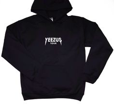 Yeezus Tour Hoodie - Front Print Only / Kanye West / Yeezus / Kanye West Merch / Kanye Merch /  Yeezus Hoodie / Saint Pablo Tour . by LintRollers on Etsy