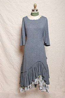 Ivey Abitz Fall - Look No. 17 Love the hemline and 3/4 length sleeves!