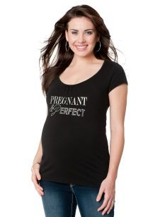 Pregnant And Perfect Maternity Tee