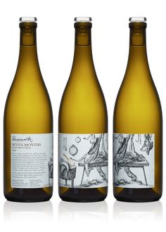 Ravensworth wine label illustrated by Steven Noble