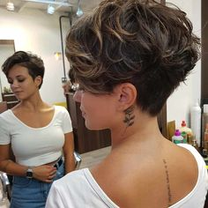 Easy Everyday Hairstyle for Short Hair - Women Pixie Haircut Ideas everyday hairstyles 10 Easy Pixie Haircut Innovations - Everyday Hairstyle for Short Hair 2019 - 2020 Easy Everyday Hairstyles, New Short Hairstyles, Short Pixie Haircuts, Trending Hairstyles, Hairstyles Haircuts, Fashion Hairstyles, Short Wavy Pixie, Baddie Hairstyles, Simple Hairstyles