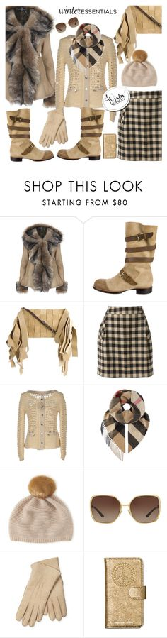 """""""Winter style"""" by hani-bgd ❤ liked on Polyvore featuring Chanel, Loewe, Woolrich, Pianurastudio, Burberry, Henri Bendel, Tory Burch, Maison Fabre, Michael Kors and Winter"""