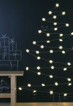 Sapin de noël lumineux, lighting cristmas tree