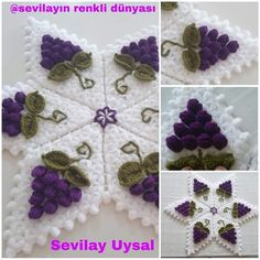 Crochet Doilies, Crochet Stitches, Crochet Patterns, Knit Edge, Crochet Clothes, Diy And Crafts, Crochet Necklace, Weaving, Kids Rugs