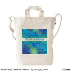 Nurse's Bags Great for Everything!! Duck Canvas Bag