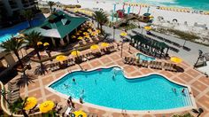 Distinct among Destin, Florida hotels, the Hilton Sandestin Beach Golf Resort & Spa hotel offers direct access to beautiful Destin beaches and golf courses. Hotels In Destin Florida, Destin Beach, Florida Travel, Florida Beaches, Beach Pool, Best Resorts, Hotels And Resorts, Inclusive Resorts, Fort Walton Beach Hotels