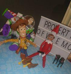 Elf on the Shelf draws on Woody