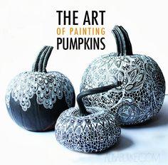 alisaburke: the art of painting pumpkins