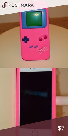 Silicon Gameboy iPhone SE/5/5s Not very good protection wise, but great for looks!!! Accessories Phone Cases