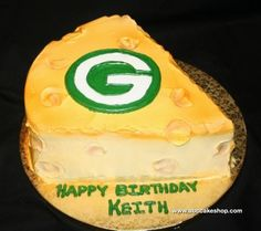 Green Bay Cheese...pinning this one for my packer friends! Dad Birthday 6d7b53ceb