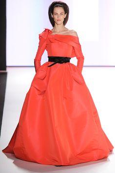 Carolina Herrera Fall 2012. red carpet prediction: michelle williams