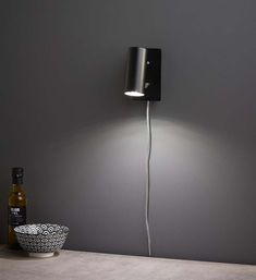 BARCELONA Vägglampa Stål Decor, Lamp, Home Decor, Lighting