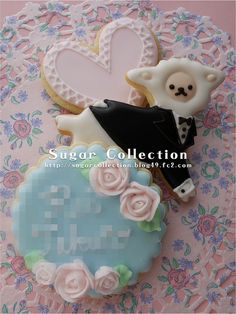 Mei-chan cookies by JILL's Sugar Collection, via Flickr