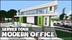 Minecraft Modern, Minecraft Castle, Minecraft Plans, Minecraft Architecture, Minecraft Buildings, Multi Story Building, Tours, City, Castles