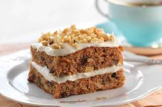 Gluten-Free Carrot Cake made with baking mix Recipe