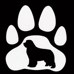 Original Newfoundland Dog Vinyl Decal by Sharon  by caninepainter, $5.00