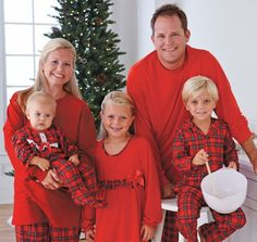Family pajamas. Cute