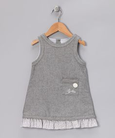 Take a look at this Gray Alicia Dress - Toddler & Girls by Alouette on #zulily today!