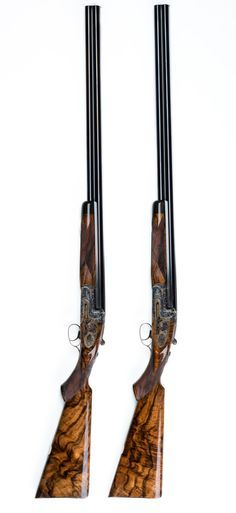 Pair of Westley Richards 20g 'Ovundo' Single Selective Trigger Droplock Shotguns http://www.facebook.com/yetichaos