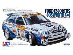 Ford Escort RS Cosworth (owned it) Tamiya Model Kits, Tamiya Models, Model Cars Kits, Kit Cars, Car Kits, Plastic Model Kits, Plastic Models, Monte Carlo, Revell Monogram
