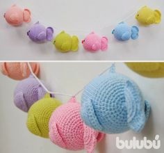 too sweet... plump crochet fish