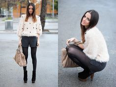 Fluffy Sweater (by Zina CH) http://lookbook.nu/look/2707129-Fluffy-Sweater
