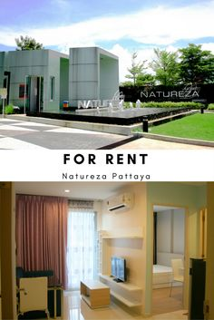 For Rent : NATUREZA CONDOMINIUM, Pattaya, Thailand  The room is well organize in separate zone; Bedroom, Bathroom(Wet and Dry),Kitchen zone and Living room with balcony.    It is located  near by Sukhumvit road. Easy to transport. Few km. from Bangkok hospital. Surrounding with the local food restaurant, Clinic, Convenience store and  other more.   Facility: ✔️Fitness(Pool View) ✔️Swimming Pool ✔️Laundry  Price: 7,500 baht/month Bedroom: 1 Bathroom: 1 Size: 30 Sq.m. 📲 +66(0)63-7896636