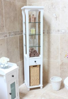 Tall Bathroom Cabinets bathroom storage units free standing | ideas | pinterest | tall