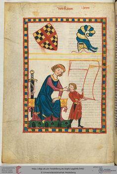 Der Dichter selbst, dessen Name anderweitig als Hartwig von Raute überliefert ist, ist in Urkunden nicht zu fassen. Er dichtete wohl um 1200. Eine Person gleichen Namens, die zwischen 1130 und 1150 in bayerischen und oberösterreichischen Urkunden erwähnt ist, wird mit ihm in Verbindung gebracht (der Vater?).