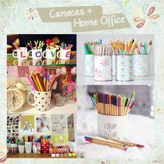 """""""Dieiny Josiane"""": Dicas de decoração..... Home Office - Faça você mesmo!!!"""