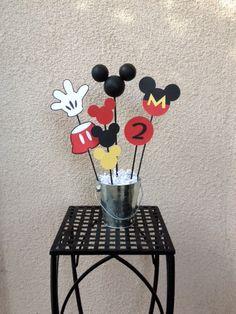 Mickey Mouse Birthday Centerpiece  or Baby by TheGirlNXTdoor, $13.50