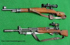 Field Expedient Sniper Rifles used in the Bosnian War