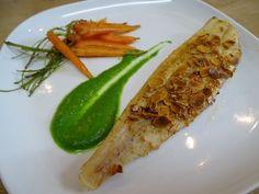 Cuisine en folie: Soles poêlées aux amandes, sauce verte au Pitacou ...