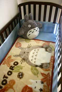 Totoro Nursery by Pinuxette, via Flickr