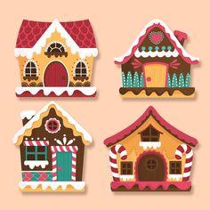 Discover thousands of free-copyright vectors on Freepik Felt Christmas Ornaments, Christmas Gingerbread, Christmas Clipart, Christmas Crafts For Kids, Christmas Printables, Christmas Projects, Winter Christmas, Christmas Cards, Hygge Christmas