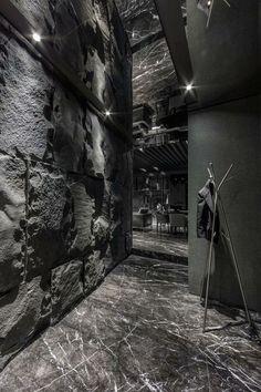 Home in Black Serenity | Atelierii + Just Make Design | Taipei | Taiwan | 2013