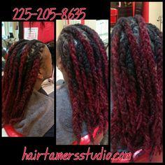 #dreadlocks #redhair #menwithlocs #womenwithlocs #hairtamersstudio #dreadheads #loclovers #locks #dreads #reddreads #dreds #batonrouge