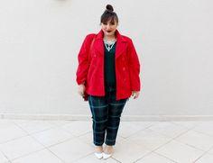 calça-plus-size-xadrez-casaco-para-gordinha