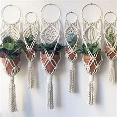 Image result for Step by Step Macrame Plant Hangers